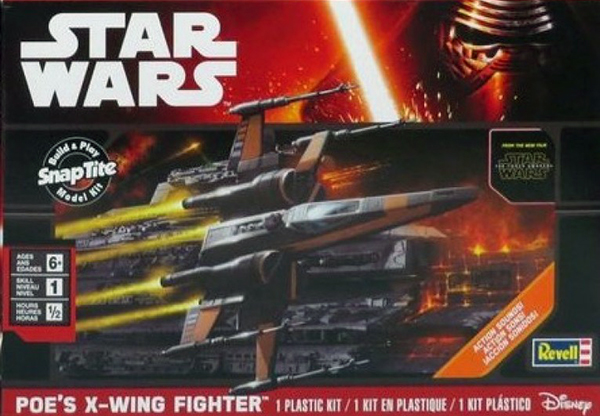 Star Wars The Force Awakens: Poes X-Wing Fighter w/Sound (Snap)