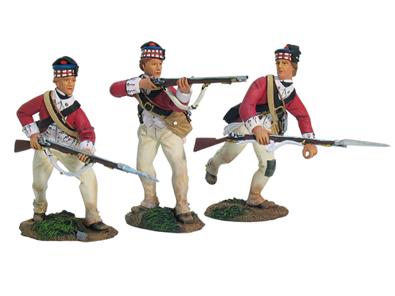 REDOUBT NO.10, BRITISH 71ST HIGHLANDERS DEFENDING SET NO.1-#17836 -1 AVAILABLE OOP