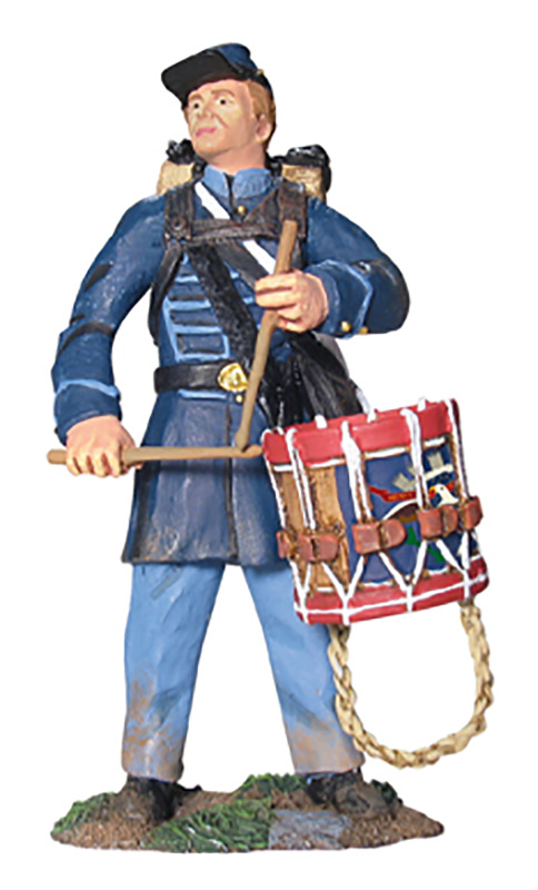 UNION INFANTRY DRUMMER IN FROCK COAT #17931-1 AVAILABLE OOP