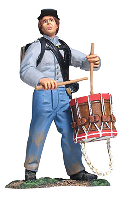 CONFEDERATE INFANTRY DRUMMER #17937-1 AVAILABLE OOP