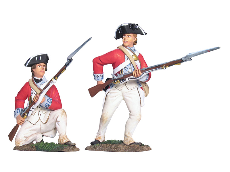BRITISH 17TH FOOT FIRING LINE SET NO.2 #17963-1 AVAILABLE OOP