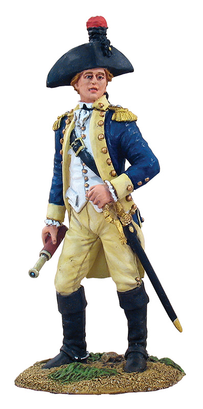 FRENCH MARQUIS DE LAFAYETTE ON FOOT  #18009-1AVAILABLE OOP