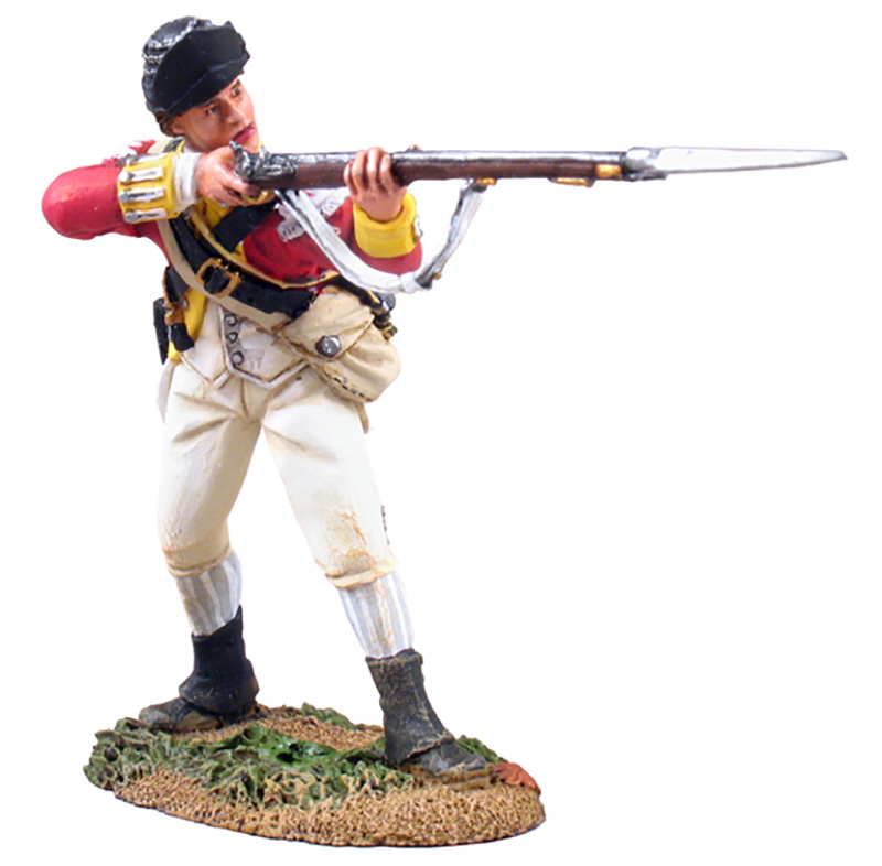 BRITISH 10TH FOOT LIGHT INFANTRY STANDING FIRING NO.1 #18026-1 AVAILABLE OOP