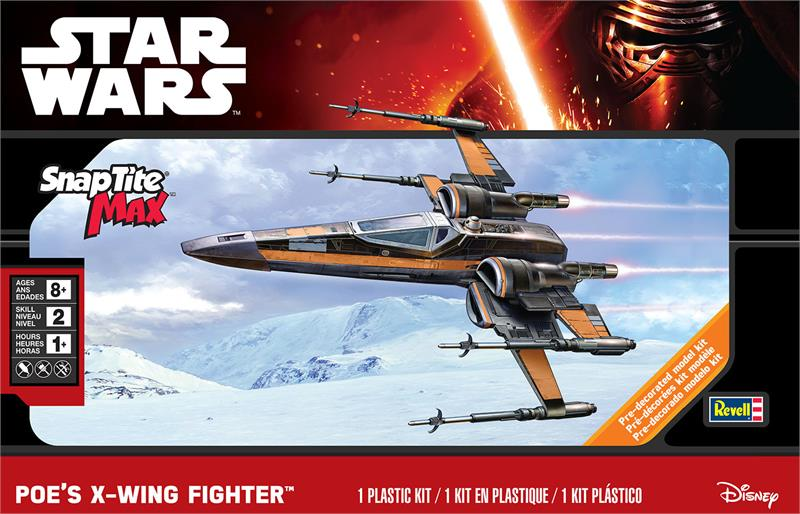 Star Wars The Force Awakens: Poes X-Wing Fighter (Snap Max)