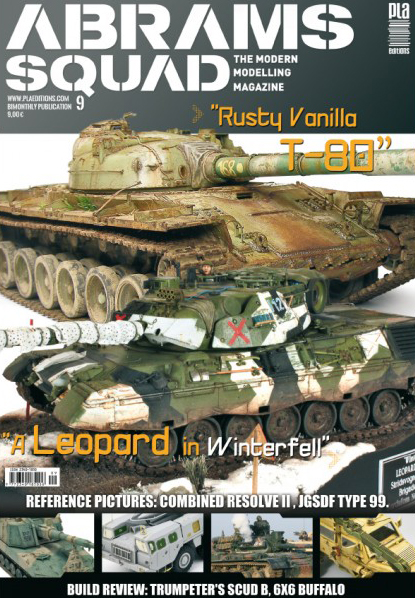 Abrams Squad: The Modern Modelling Magazine Issue 9