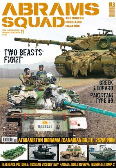 Abrams Squad: The Modern Modelling Magazine no. 11