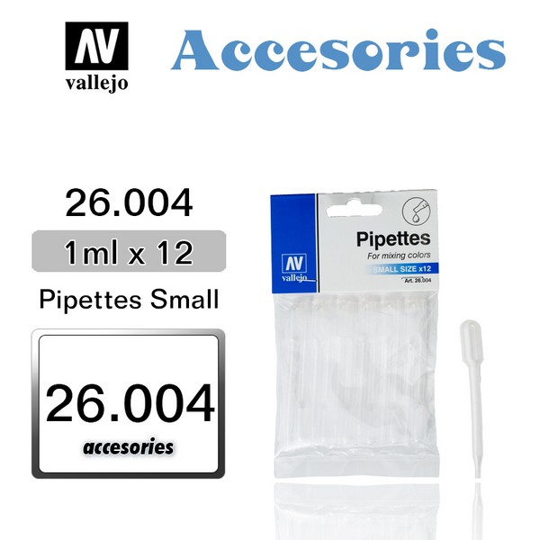 PIPETTES Small x 12