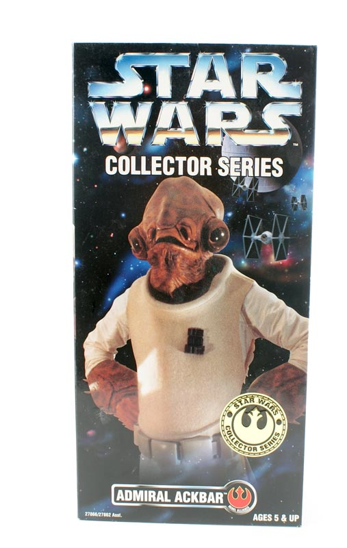 Kenner Star Wars Admiral Ackbar #27866 12 Inch Action Figure NIB 1 Available OOP