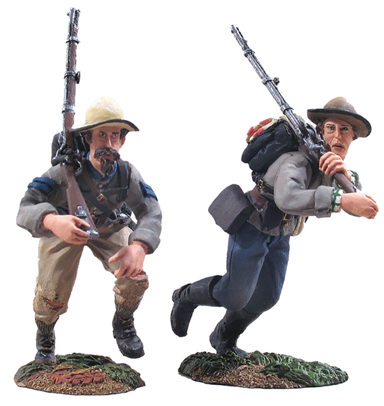 CONFEDERATE INFANTRY CHARGING SET NO.3-#31010-1 AVAILABLE OOP