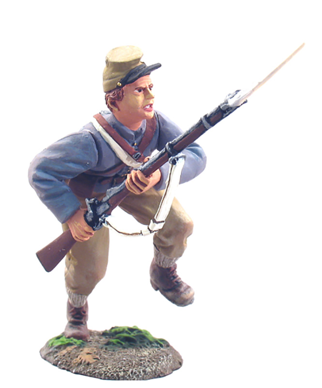 CONFEDERATE INFANTRY CHARGING NO.4 #31045-1 AVAILABLE OOP