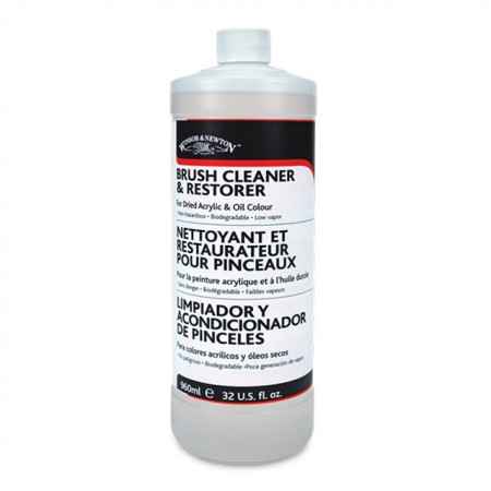 Brush Cleaner and Restorer- 16 oz.