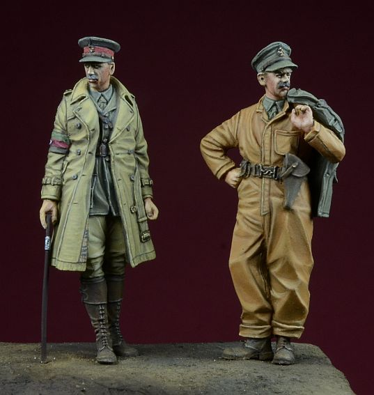 WWI British Tank Corps Set