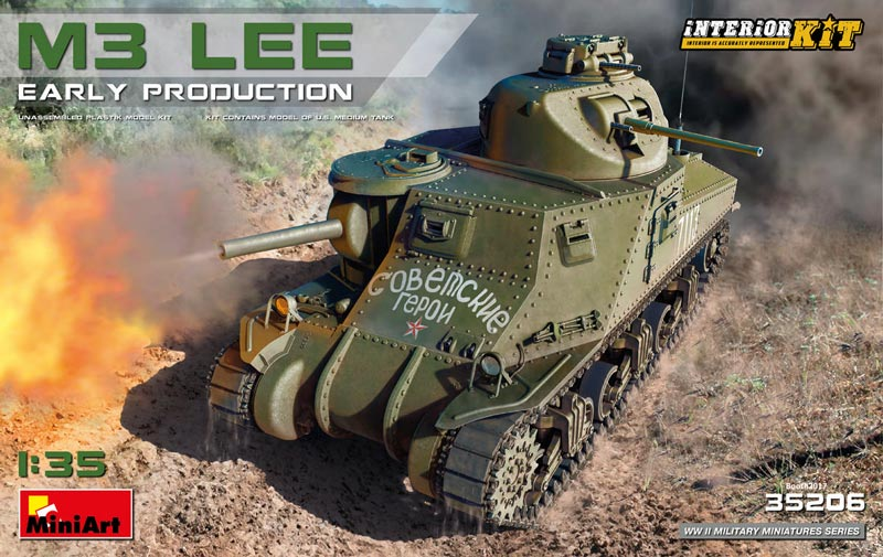 M3 Lee Early Production [Interior Kit]