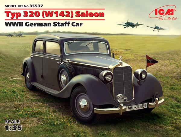 WWII German Type 320 (W142) Saloon Staff Car