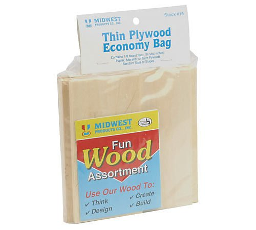 Thin Plywood Economy Bag