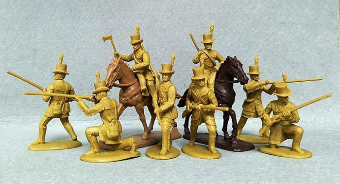 War of 1812 - Kentucky Riflemen (Foot & Mounted)