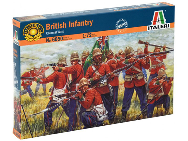 Zulu War British Infantry (Re-Issue)