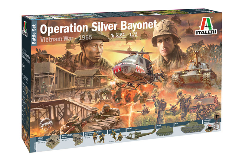 Diorama Set: Operation Silver Bayonet - Vietnam War 1965