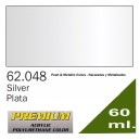 Premium Metallic Silver 60ml