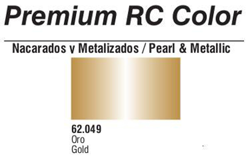 Premium Metallic Gold 60ml
