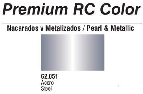 Premium Metallic Steel 60ml