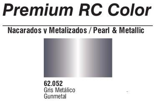 Premium Metallic Gun Metal 60ml