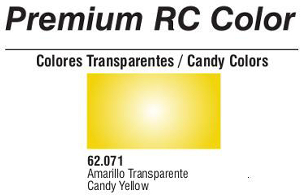 Premium Transparent Candy Yellow 60ml