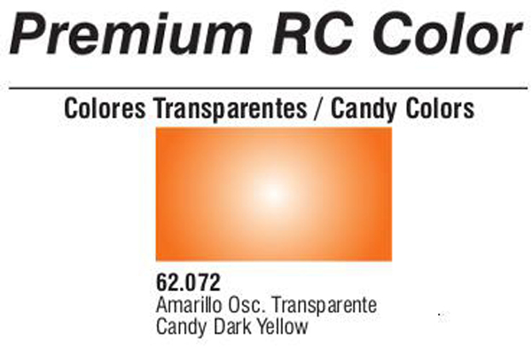 Premium Transparent Candy Dark Yellow 60ml