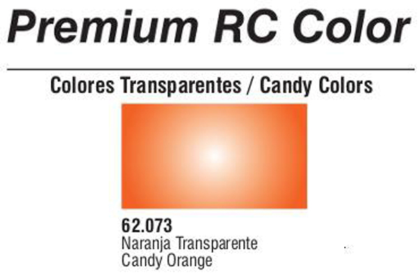 Premium Transparent Candy Orange 60ml