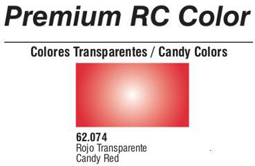 Premium Transparent Candy Red 60ml