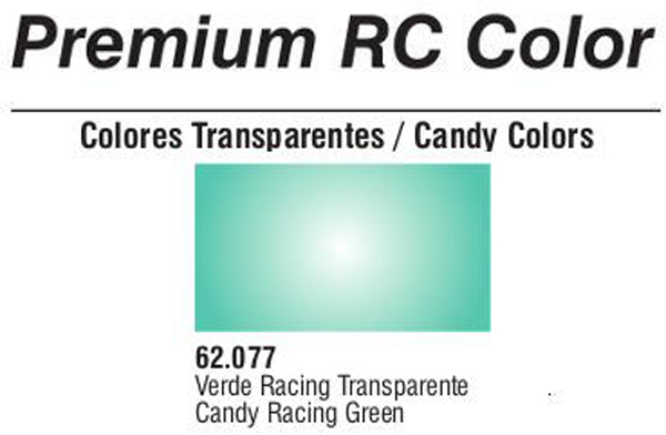Premium Transparent Candy Racing Green 60ml
