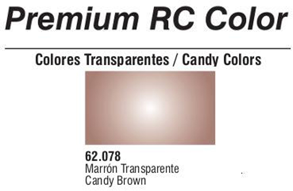 Premium Transparent Candy Brown 60ml