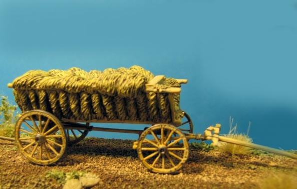 Peasant Wagon - Loaded with Hay
