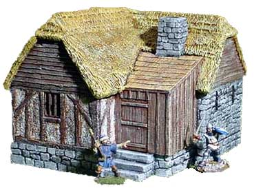 Medieval Village Set#4, Building #1