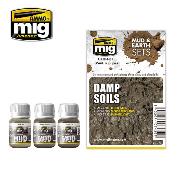 Mud and Earth Sets: Damp Soils