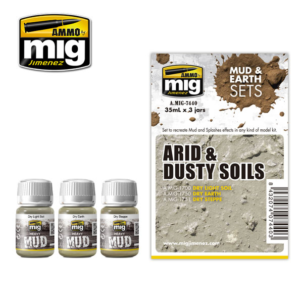 Mud and Earth Sets: Arid & Dusty Soils