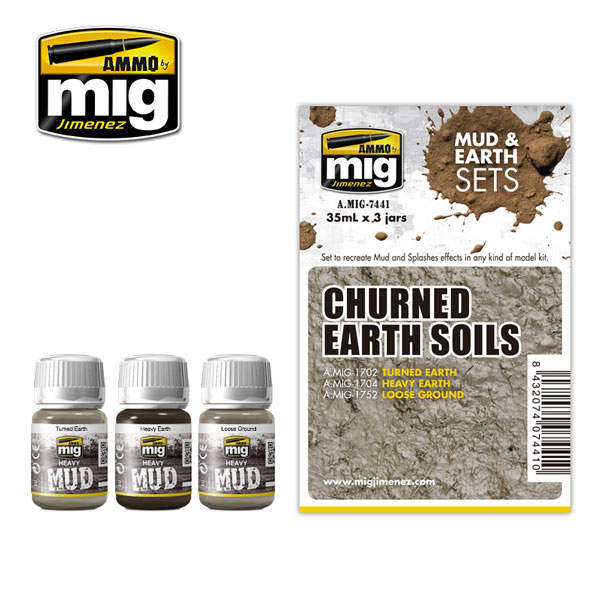 Mud and Earth Sets: Churned Earth Soils