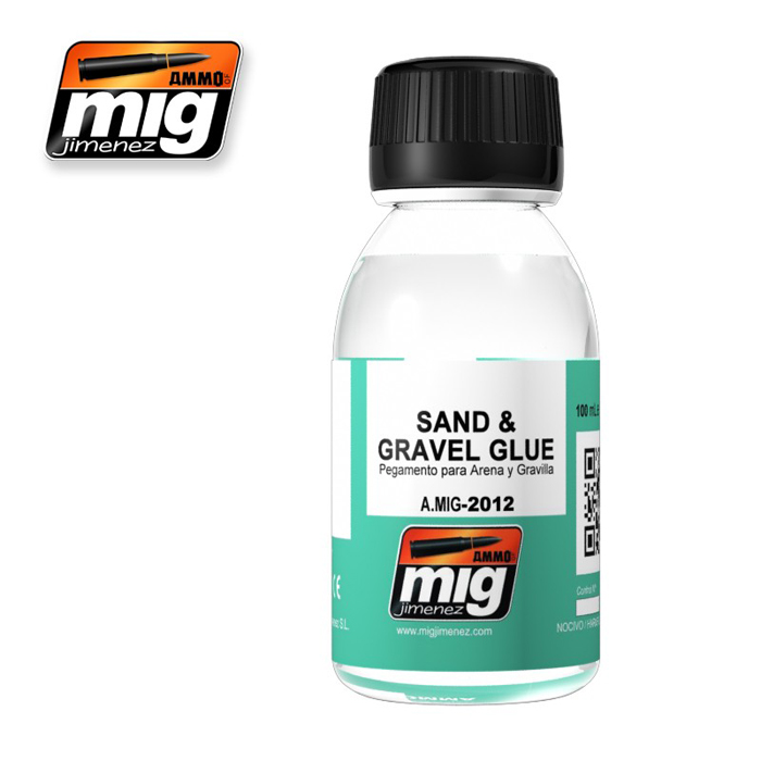 Thinners & Glues: Sand And Gravel Glue (AK 118