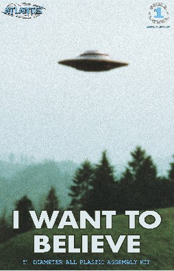UFO from I Want to Believe Photo X-Files TV Series