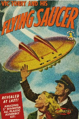Vic Torry & His Flying Saucer from Comic Book