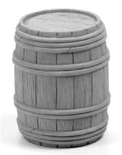 Wooden Barrel - Full Closed