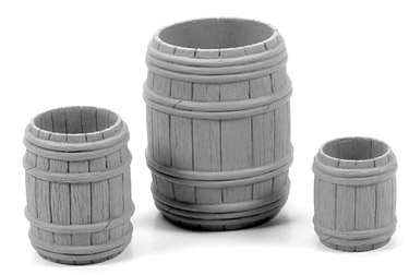 Wooden Barrels Open Combo Pack