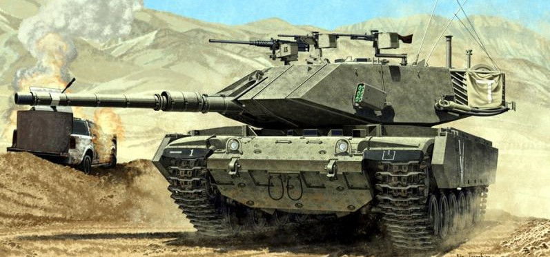 Photos of IDF Magach 7c Tank based on M60 MBT : theCHIVE