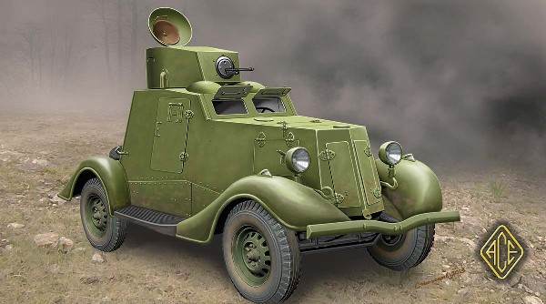 FAI-M Soviet Light Armored Car