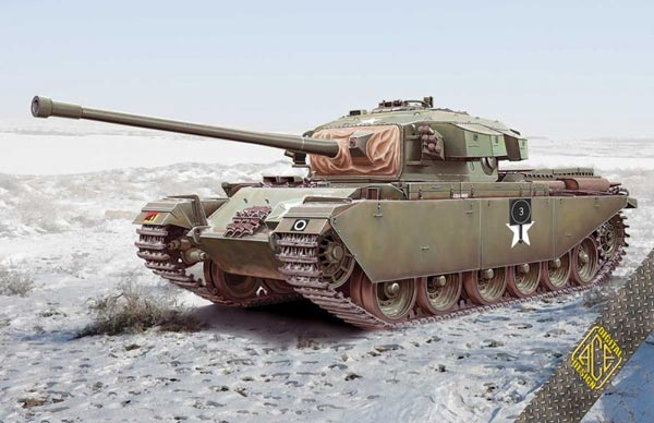 British Centurion MK 3 Main Battle Tank