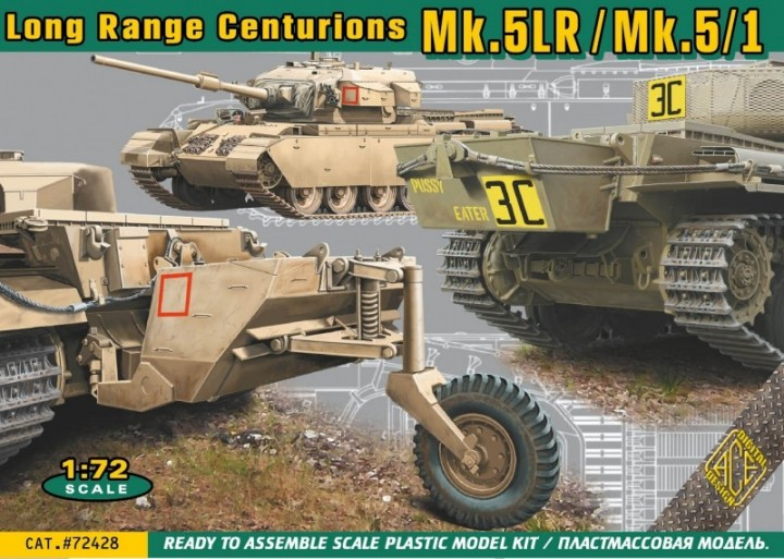 British Centurion Mk 5LR/Mk 5/1 Main Battle Tank