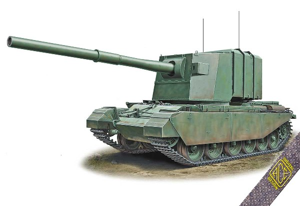 FV4005 Centurion Experimental Tank Destroyer w/183mm Gun