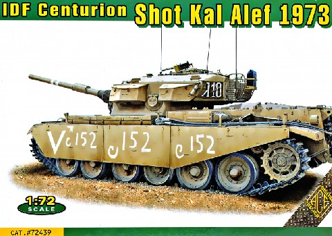 Centurion Shot Kal Alef 1973 Main Battle Tank