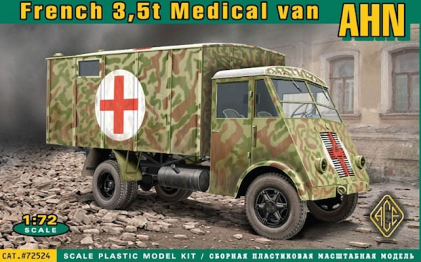 AHN 3.5t French Medical Van