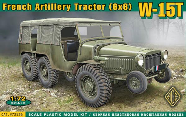 W15T 6x6 WWII French Artillery Tractor